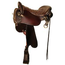 Tucker Endurance Trail Saddle Tooled - TB