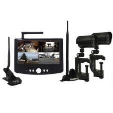 Trailer Eyes 2 Camera Digital System for Trailering, Barn or House - TB