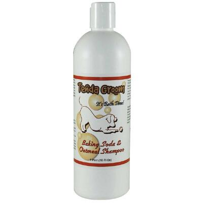 Baking Soda and Oatmeal Dog Shampoo Pint