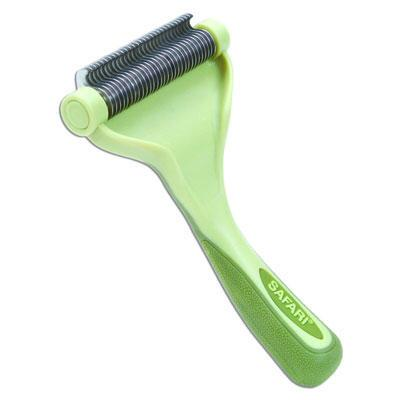 Safari Large Shed Magic De-Shedding Tool for Medium to Long Hair