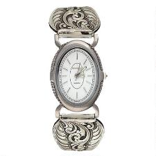 Montana Silversmiths Antiqued Filigree Ladies Expansion Watch - TB