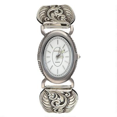 Montana Silversmiths Antiqued Filigree Ladies Expansion Watch
